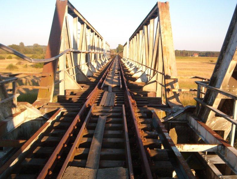 Most kolejowy w Stanach, Stany woj. lubuskie